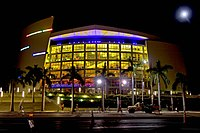 American Airlines Arena, home of the Miami Heat.