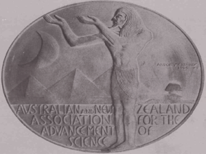 Australian and New Zealand Association for the Advancement of Science - ANZAAS medal (obverse)