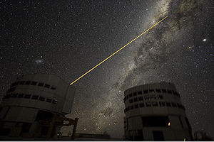 Adaptive optics - Astronomers at the Very Large Telescope site in Chile use adaptive optics.