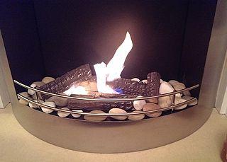 Ethanol fireplace