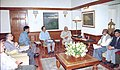 A delegation of the All India Federation of College Teachers called on the Prime Minister Shri Atal Bihari Vajpayee in New Delhi on March 5, 2004.jpg