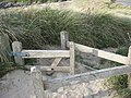 A disappearing kissing gate at Porth Trecastell - geograph.org.uk - 1057250.jpg