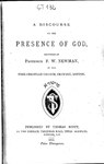 A discourse on the presence of God.pdf