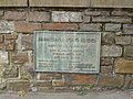 A plaque on Long Bridge on the river Taw - geograph.org.uk - 1857027.jpg