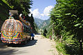 A road leads to Sharda, Neelum Valley AJK.JPG