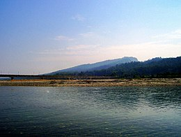 A view of Tons river from Paonta Sahib,.JPG
