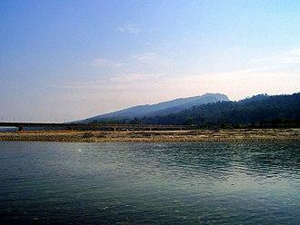 Tons River - Tons River, flowing near Paonta Sahib, Himachal Pradesh. The Bridge seen in the picture links Dehradun (uttarakhand) with Paonta Sahib (Himachal)