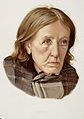 A woman diagnosed as suffering from chronic dementia. Colour Wellcome L0026688.jpg