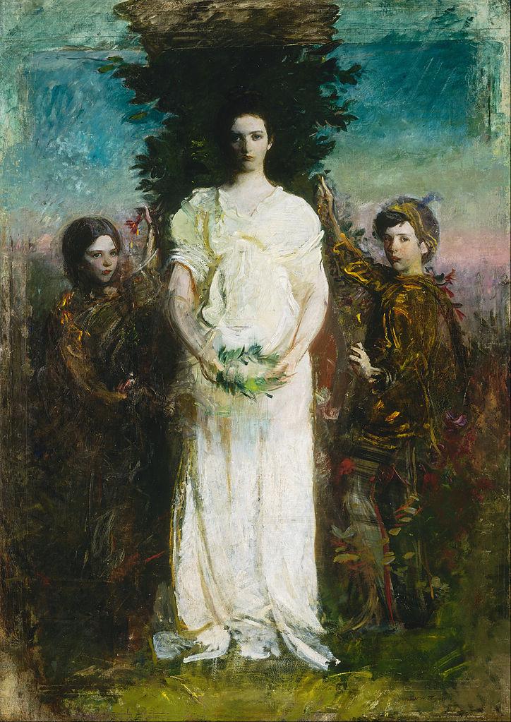 File:Abbott Handerson Thayer - My Children (Mary, Gerald ...