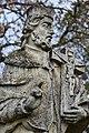Abda, Nepomuki Szent János-szobor 2021 12.jpg