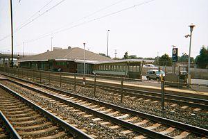 Aberdeen station (Maryland) - Image: Aberdeen Station Southbound Tunnel