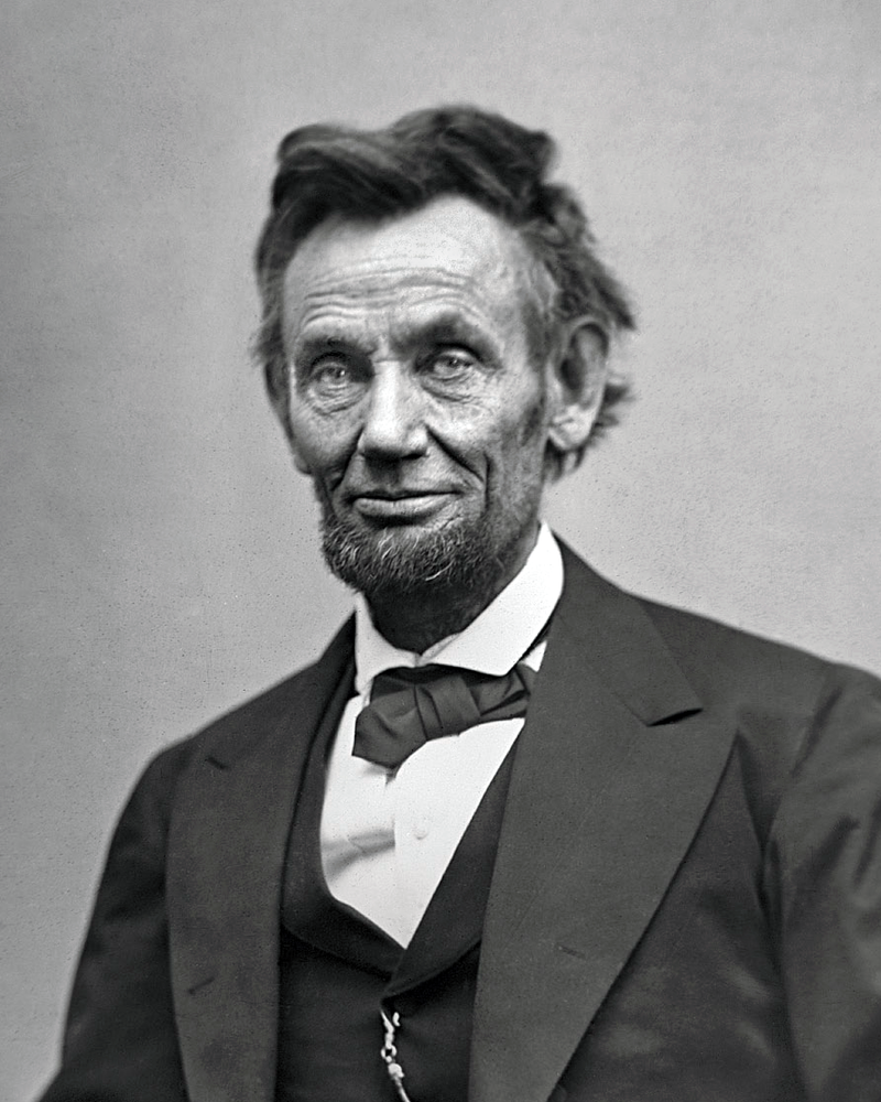 "Big Abe: ""A new birth of freedom …"""