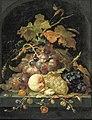 Abraham Mignon - Stilleven van druiven en andere vruchten - 2175 (OK) - Museum Boijmans Van Beuningen.jpg
