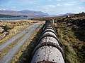 Abstraction pipe for Loch Fannich - geograph.org.uk - 1233894.jpg