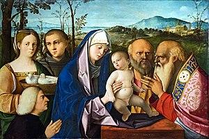 Francesco Bissolo - Presentation of Jesus at the temple ,  Gallerie dell'Accademia