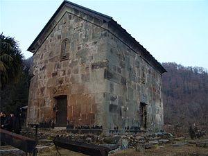 Achi Monastery - The Achi church in 2007