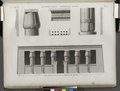 Achmouneyn (Hermopolis Magna). Plan, élévation et détails du portique du temple (NYPL b14212718-1268147).tiff