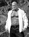 Actor & Model John Joseph Quinlan In Calvin Klein Pinstripes by Steve Mark.jpg