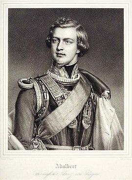 Adalbert, Bayern, Prinz, 1828-1875