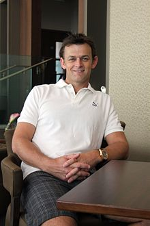 Adam Gilchrist in June 2010