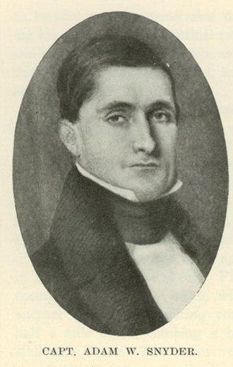 Illinois's 1st congressional district - Image: Adam Wilson Snyder 1