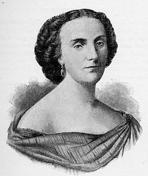 Herculanum (opera) - Adelaide Borghi-Mamo, who created the role of Olympia