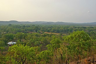 Adelaide River, Northern Territory - View overlooking the town of Adelaide River.