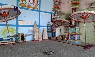 Adikesava Perumal temple, Mylapore - Festival hall
