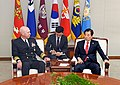 Adm. Scott Swift meets with Mr. Han, Min-koo, Republic of Korea during a routine visit to Seoul, ROK. (33699381622).jpg