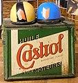 Advertising sign, Castrol - helmets.jpg