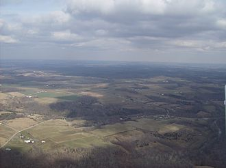 Scott Township, Adams County, Ohio - Countryside in western Scott Township