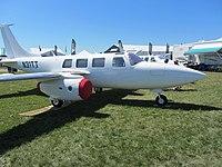 Piper aerostar wikivisually an experimental turbine powered aerostar fj 80 in 2011 1980 aerostar 601p fandeluxe Images