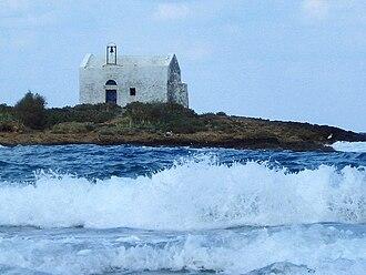 Afentis Christos - The islet of Afendis Christos at Malia.