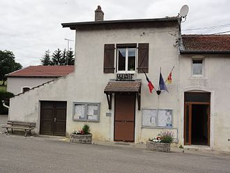 Affracourt - The town hall in Affracourt