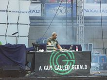 A Guy Called Gerald at the festival