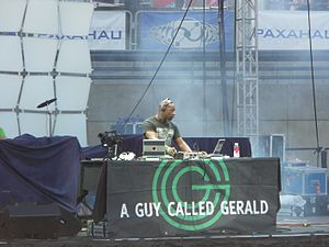 Detroit Electronic Music Festival - A Guy Called Gerald performing at the festival in 2007