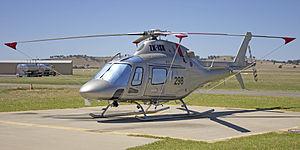 AgustaWestland AW119 Koala Ke (ZK-ISR) at the Wagga Wagga Airport heli-pad (1).jpg