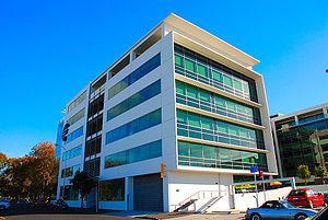 """The Hub,"" Air New Zealand headquarters"