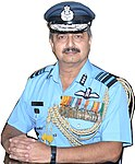 Air Marshal V.R. Chaudhari taking charge as the Deputy Chief of the Air Staff, in New Delhi on October 01, 2018.jpg
