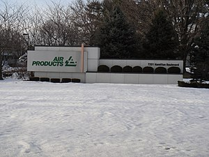Air Products & Chemicals - Air Products Headquarters.