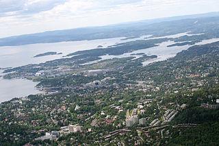 Ullern Borough in Norway