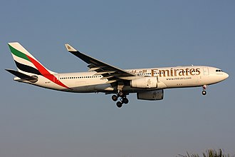 Emirates fleet - Emirates Airbus A330-200