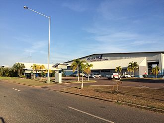 Airnorth - Airnorth headquarters at Darwin Airport.