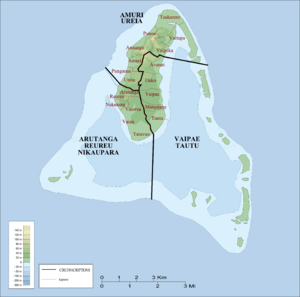 Arutanga-Reureu-Nikaupara (Cook Islands electorate) - Electorates on Aititaki