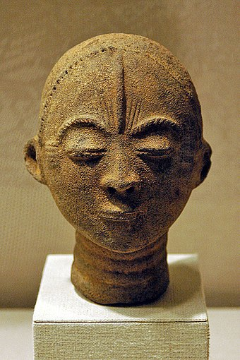 16th-century Akan Terracotta, Metropolitan Museum of Art Akan face.jpg