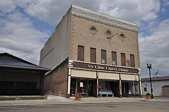 National Register of Historic Places listings in Plymouth County, Iowa - Image: Akron IA Opera House