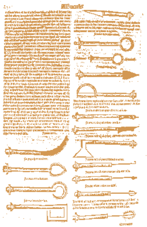 Al-Zahrawi - Page from a 1531 Latin translation by Peter Argellata of Al-Zahrawi's treatise on surgical and medical instruments.
