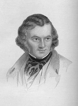 Albert Richard Smith - Albert Smith engraving from 1858