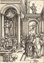 Albrecht Dürer, The Presentation of the Virgin in the Temple, c. 1502-1503, NGA 6696.jpg