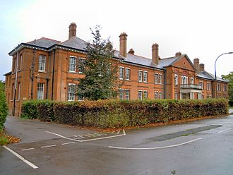 Aldershot Command - Command Headquarters Building, in use 1895 to 1996 (when it was handed over to 4th Division)